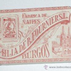 Barajas de cartas: BARAJA DE CARTAS HIJA DE B. FOURNIER AÑOS 40 PRECINTADA. Lote 27322115