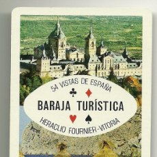 Barajas de cartas: BARAJA TURÍSTICA FOURNIER. 54 CARTAS (PÓKER). Lote 27142048