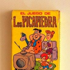 Barajas de cartas: ANTIGUA BARAJA INFANTIL DE EDICIONES RECREATIVAS. EL JUEGO DE LOS PICAPIEDRA. 1982. Lote 27376432
