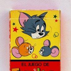 Barajas de cartas: ANTIGUA BARAJA INFANTIL DE EDICIONES RECREATIVAS. EL JUEGO DE TOM Y JERRY. 1979. Lote 27344190