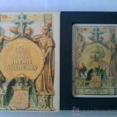 Barajas de cartas: BARAJA IBEROAMERICANA, H. FOURNIER, AÑO 1979. Lote 27613659