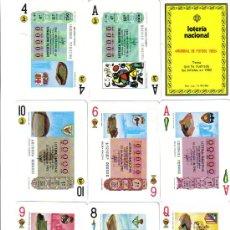 Barajas de cartas: BARAJA MUNDIAL 82 DE LOTERIAS-FOURNIER-AÑO 1983. Lote 26366704