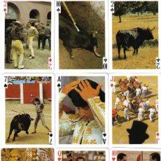 Barajas de cartas: BARAJA FIESTA TAURINA-DE FOURNIER-AÑO 1980. Lote 26417643