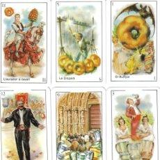 Barajas de cartas: BARAJA ESPAÑOLA CROMOS FALLEROS.-AÑO 1982. Lote 26434111