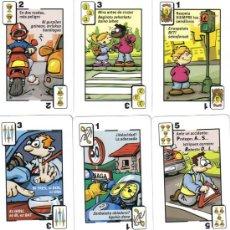 Barajas de cartas: BARAJA ESPAÑOLA DE SEGURIDAD VIAL-FOURNIER-AÑO 2007. Lote 26467679