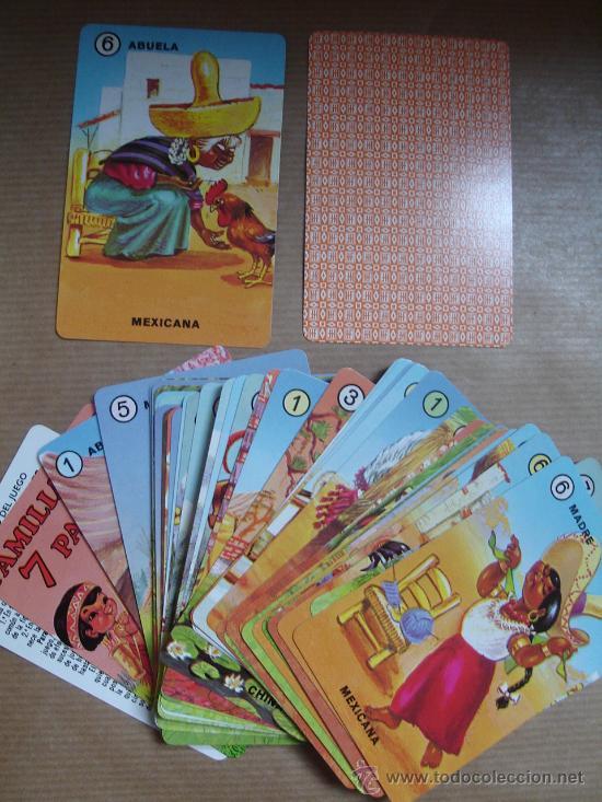 Barajas de cartas: BARAJA FAMILIAS DE 7 PAISES HERACLIO FOURNIER 42+ 2 ¡¡ COMPLETA ¡¡¡¡ AÑO 2000 - Foto 4 - 24386927