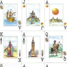 Barajas de cartas: BARAJA ESPAÑOLA EXPO SEVILLA 1992.-. Lote 26743786