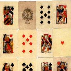 Barajas de cartas: BARAJA PARA PIQUET - ISLAS BRITÁNICAS - SIGLO XVIII (HACIA 1780) - FACSÍMIL MUSEO DE NAIPES FOURNIER. Lote 25612414