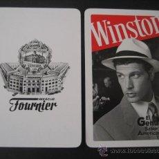 Barajas de cartas: CARTA POKER, JOKER, MONO, COMODIN DE BARAJA. TABACO WINSTON. Lote 24353875