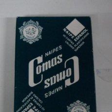 Barajas de cartas: ANTIGUA BARAJA DE CARTAS - NAIPES COMAS - 40 CARTAS - NAIPE ESPAÑOL - CON PUBLICIDAD DE REPSOL - COM. Lote 24402430
