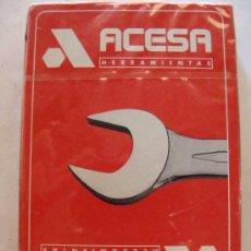 Barajas de cartas: BARAJA DE CARTAS ESPAÑOLA. FOURNIER. ACESA HERRAMIENTAS. 40 NAIPES. PRECINTADA. . Lote 24405744