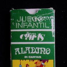 Barajas de cartas: ALADINO. 31 CARTAS NAIPES Y ESPECIALIDADES GRAFICAS FARCELONA. . Lote 24458828