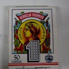 Barajas de cartas: ANTIGUA BARAJA DE CARTAS - BARAJA ESPAÑOLA - 50 CARTAS - HERACLIO FORUNIER, VITRIA - COMPLETA - OLD . Lote 24565150