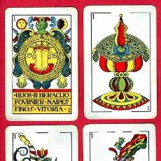 Barajas de cartas: BARAJA ESPAÑOLA 1936 ,HIJOS DE HERACLIO FOURNIER, ORIGINAL, 40 NAIPES, VER FOTOS ADICIONALES. Lote 27498852