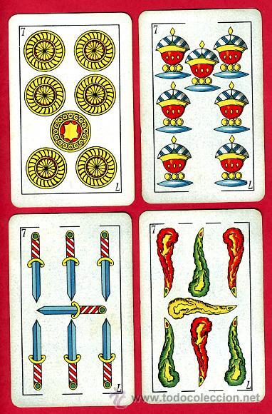 Barajas de cartas: BARAJA ESPAÑOLA 1936 ,HIJOS DE HERACLIO FOURNIER, ORIGINAL, 40 NAIPES, VER FOTOS ADICIONALES - Foto 9 - 27498852