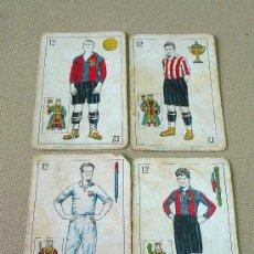 Barajas de cartas: BARAJA DE FUTBOL, CROMOS, CHOCOLATES AMATLLER, INCOMPLETA, 1930S. Lote 24644158