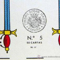 Barajas de cartas: BARAJA COMPLETA, FOURNIER, VITORIA, DORSO AZUL, 48 NAIPES. Lote 27438079