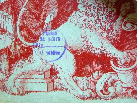 Barajas de cartas: ANTIGUO ESTUCHE, SOBRE, BARAJA ESPAÑOLA GIGANTE, Nº 111, HERACLIO FOURNIER, DE 50 NAIPES - Foto 4 - 24755670