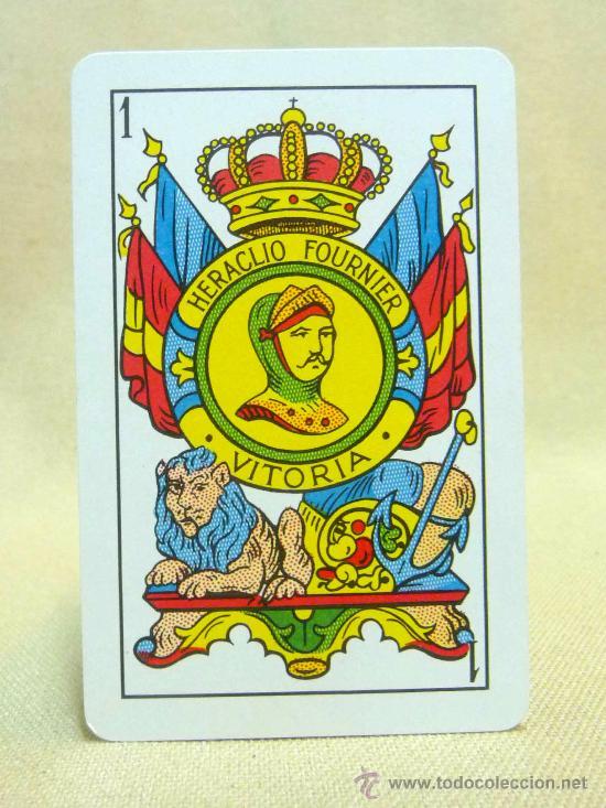 Barajas de cartas: BARAJA COMPLETA, FOURNIER, VITORIA, DORSO AZUL, 48 NAIPES - Foto 6 - 27438079