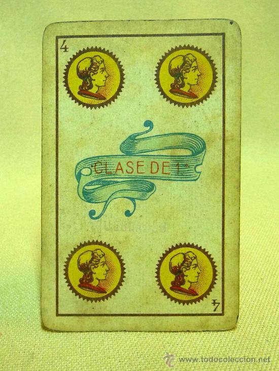Barajas de cartas: ANTIGUA BARAJA SIMEON DURA, VALENCIA, TIMBRE 30 CENTIMOS, INCOMPLETA, DORSO ROJO, 31 NAIPES - Foto 14 - 24669216