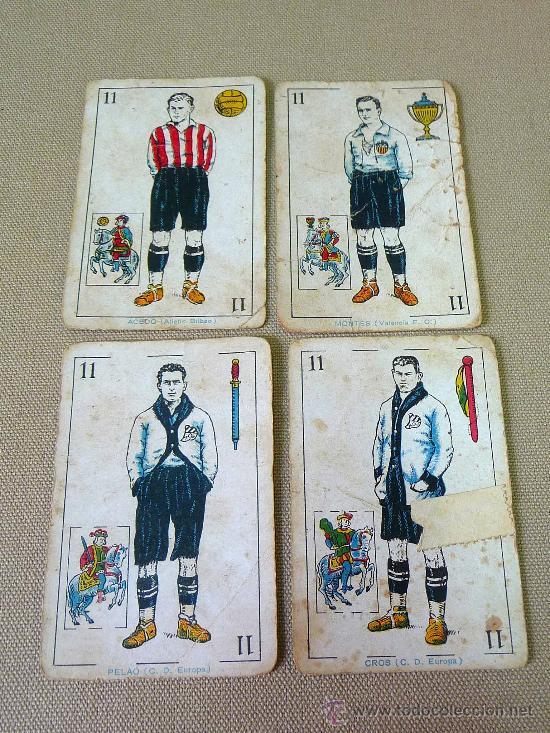 Barajas de cartas: BARAJA DE FUTBOL, CROMOS, CHOCOLATES AMATLLER, INCOMPLETA, 1930s - Foto 10 - 24644158