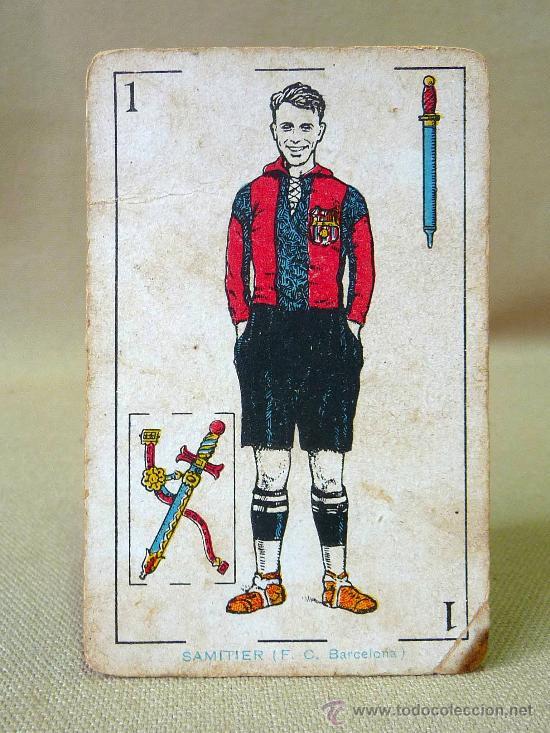 Barajas de cartas: BARAJA DE FUTBOL, CROMOS, CHOCOLATES AMATLLER, INCOMPLETA, 1930s - Foto 16 - 24644158