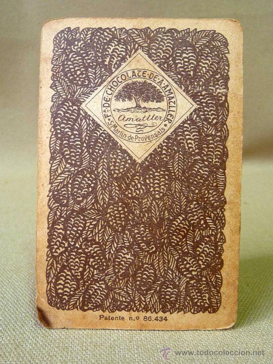 Barajas de cartas: BARAJA DE FUTBOL, CROMOS, CHOCOLATES AMATLLER, INCOMPLETA, 1930s - Foto 17 - 24644158