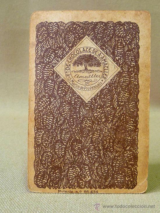 Barajas de cartas: BARAJA DE FUTBOL, CROMOS, CHOCOLATES AMATLLER, INCOMPLETA, 1930s - Foto 26 - 24644158