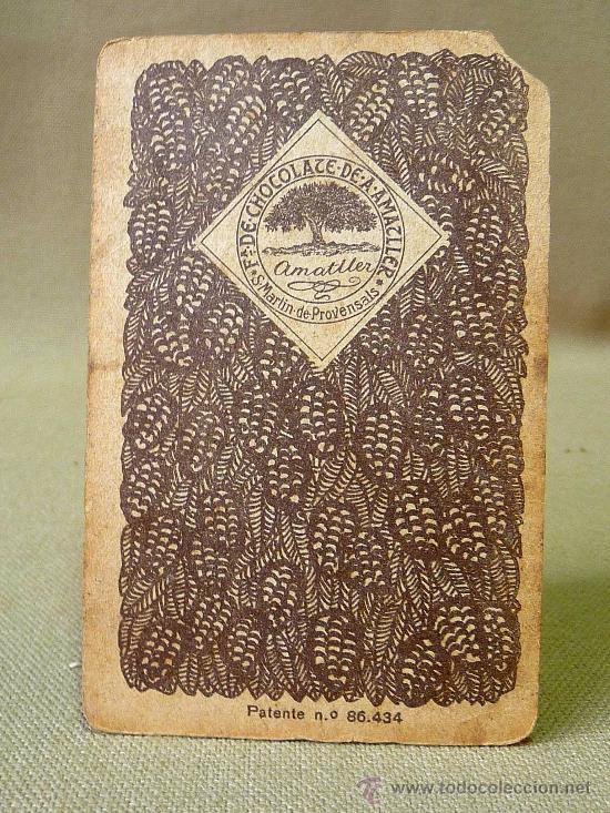 Barajas de cartas: BARAJA DE FUTBOL, CROMOS, CHOCOLATES AMATLLER, INCOMPLETA, 1930s - Foto 28 - 24644158