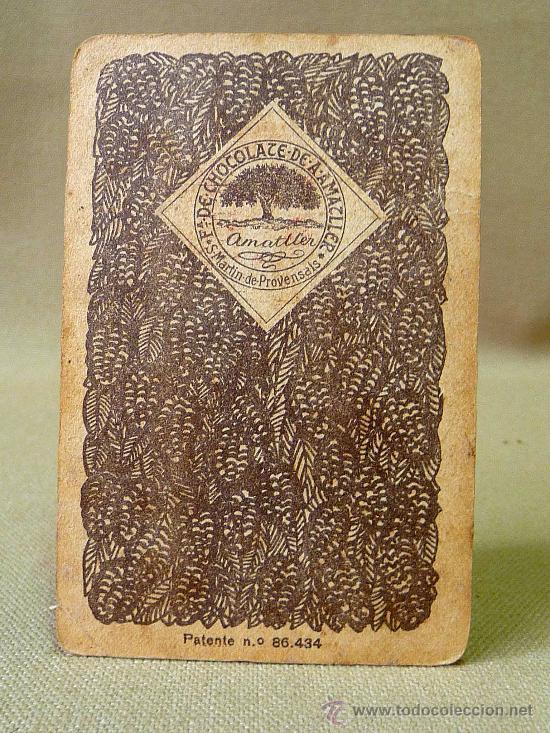 Barajas de cartas: BARAJA DE FUTBOL, CROMOS, CHOCOLATES AMATLLER, INCOMPLETA, 1930s - Foto 30 - 24644158