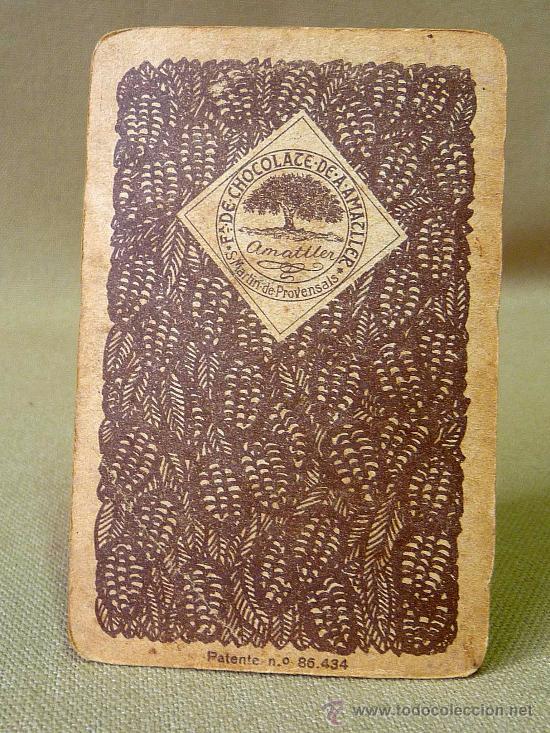 Barajas de cartas: BARAJA DE FUTBOL, CROMOS, CHOCOLATES AMATLLER, INCOMPLETA, 1930s - Foto 32 - 24644158
