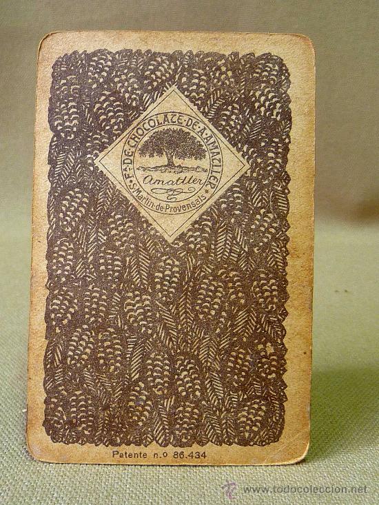 Barajas de cartas: BARAJA DE FUTBOL, CROMOS, CHOCOLATES AMATLLER, INCOMPLETA, 1930s - Foto 34 - 24644158
