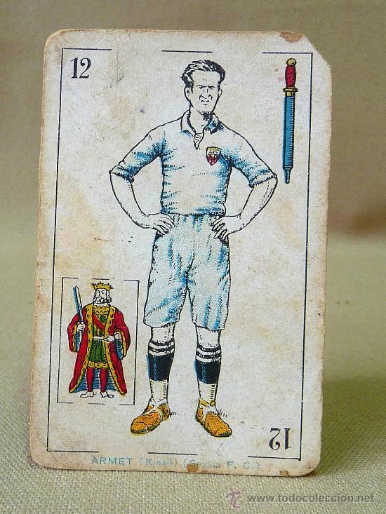 Barajas de cartas: BARAJA DE FUTBOL, CROMOS, CHOCOLATES AMATLLER, INCOMPLETA, 1930s - Foto 35 - 24644158