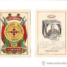 Barajas de cartas: BARAJA ANTIGUA PARA MAGIA. Lote 27033230