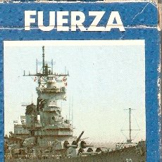 Barajas de cartas: FUERZA NAVAL - 1987 - HERACLIO FOURNIER - 1987 - COMPLETA. Lote 288536228