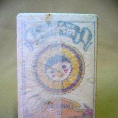 Barajas de cartas: BARAJA INFANTIL, RECLAMOS BERLANGA, CROMOS, COMPLETA, SIN ABRIR, LICORES GARCIA, JATIVA, 1930S. Lote 25101121