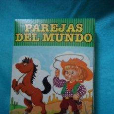 Barajas de cartas: BARAJA DE CARTAS PAREJAS DEL MUNDO,33 NAIPES FOURNIER. Lote 161731282
