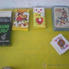 Barajas de cartas - 5 barajas de cartas infantiles - 25615235