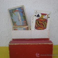Barajas de cartas: 2 BARAJAS DE CARTAS ANTIGUAS. Lote 25615364