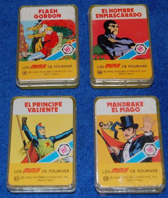 LOTE DE 4 BARAJAS MINIS - FOURNIER (Juguetes y Juegos - Cartas y Naipes - Barajas Infantiles)