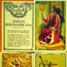 Barajas de cartas: BARAJA FOURNIER IBEROAMERICANA SIGLO XV Y XVI. Lote 135572783