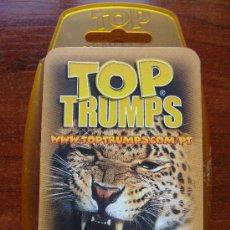 Barajas de cartas: BARAJA DE CARTAS INFANTIL DE PORTUGAL. ANIMALES SALVAJES. TOP TRUMPS. 30 NAIPES. . Lote 25685196