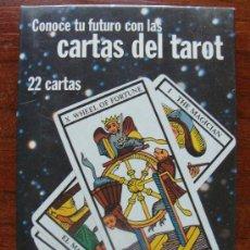 Barajas de cartas: BARAJA DE CARTAS DE TAROT. WOMAN. 22 ARCANOS. NAIPES + LIBRO INSTRUCCIONES + CAJA. . Lote 25685924
