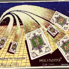 Barajas de cartas: JUEGO DE NAIPES SOLILOTO, DE NAIPES COMAS. Lote 25858907