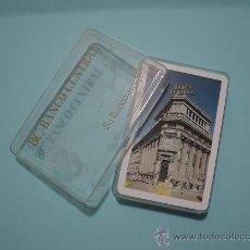 Barajas de cartas: BARAJA CLASICA ESPAÑOLA FOURNIER PUBLICITARIA BANCO CENTRAL CON CAJA. Lote 27492284