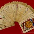 Barajas de cartas: BARAJA OLEA CADIZ , 1880 , ORIGINAL, ANTIGUA, 40 NAIPES , VER FOTOS ADICIONALES. COMPLETA. Lote 26202031