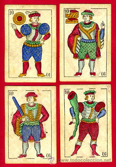Barajas de cartas: BARAJA OLEA CADIZ , 1880 , ORIGINAL, ANTIGUA, 40 NAIPES , VER FOTOS ADICIONALES. COMPLETA - Foto 10 - 26202031