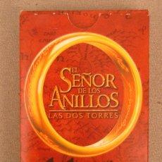 Barajas de cartas: BARAJA EL SEÑOR DE LOS ANILLOS LAS 2 TORRRES A ESTRENAR 55 BARAJAS + INSTRUCCIONES. Lote 26346720