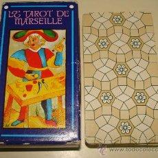 Barajas de cartas: BARAJA DE CARTAS DE TAROT. EL TAROT DE MARSELLA. HERACLIO FORNIER. 56 NAIPES. SIN ARCANOS. . Lote 38088290