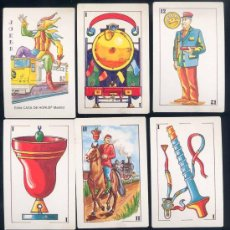 Barajas de cartas: BARAJA DE CARTAS COMPLETA (40 NAIPES).- TEMÁTICA FERROVIARIA. Lote 26404955